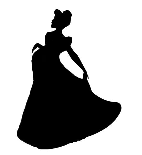 457x499 Silhouette Cinderella Pregnant