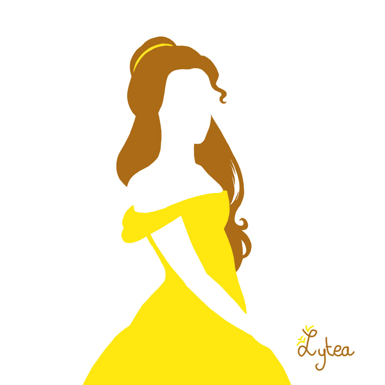 790x790 Tangled Silhouette Clipart
