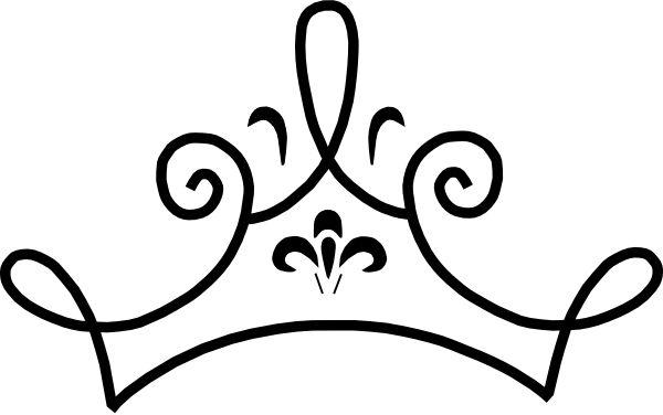 600x376 Black Royal Crown Silhouette Free Clip Art