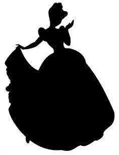 236x306 Disney Princess Silhouette Cinderella