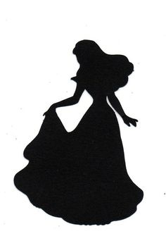 236x345 Disney Princess Silhouette Free Printables