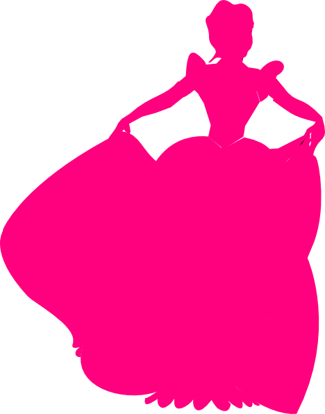 468x596 Get Free Printable Disney Princess Silhouettes Images