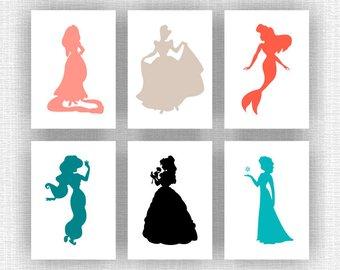 340x270 Instant Download Disney Castle And Princess Belle Rapunzel