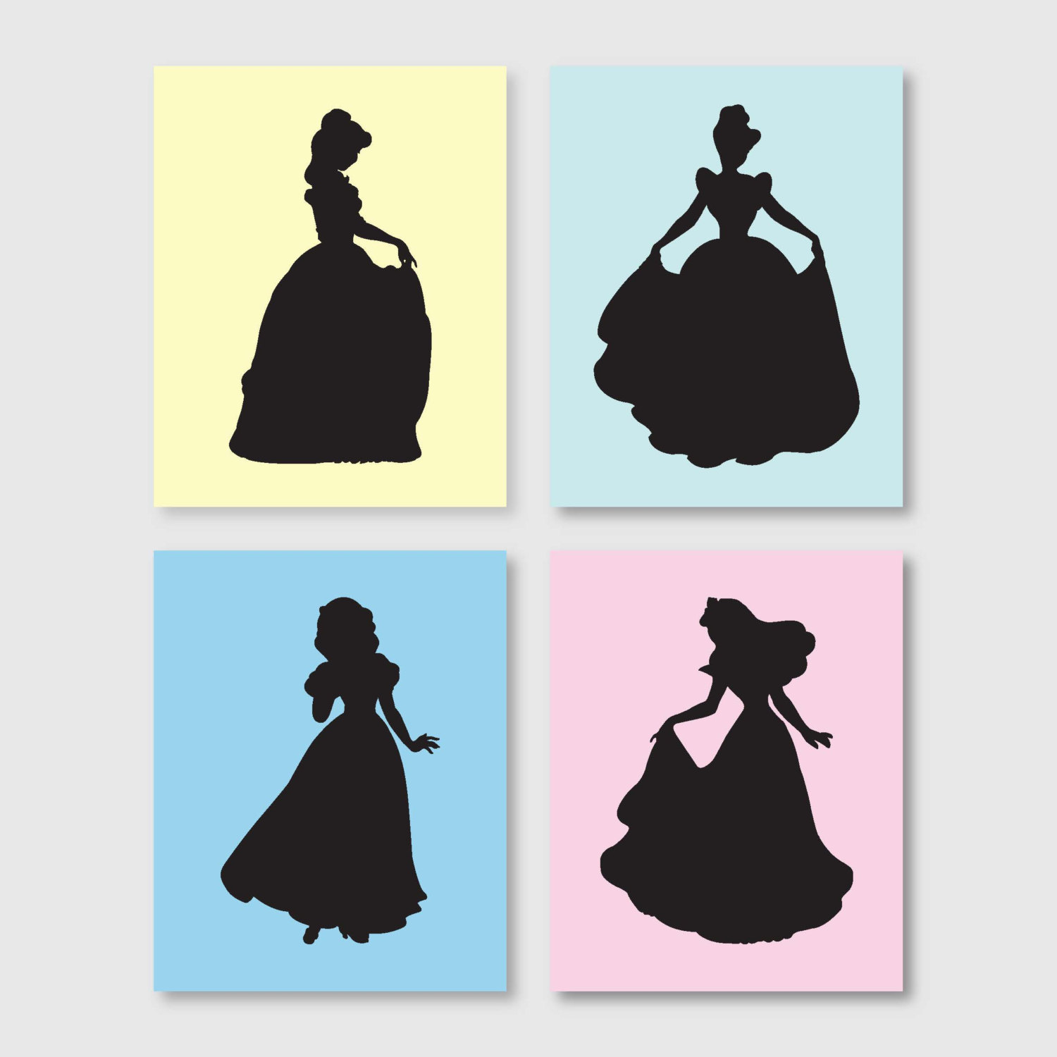 1500x1500 Princess Silhouette By Sandra.torres.18 Cute To Be Printed