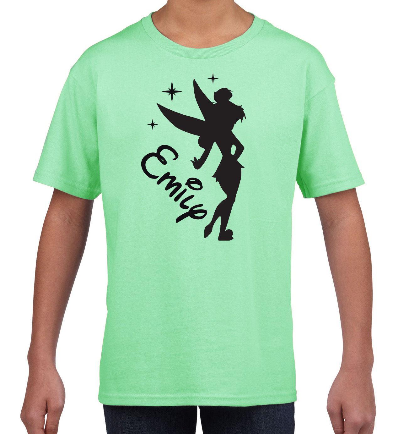 1268x1381 Kids Personalised Silhouette Princess Disney Tiana Inspired Name T