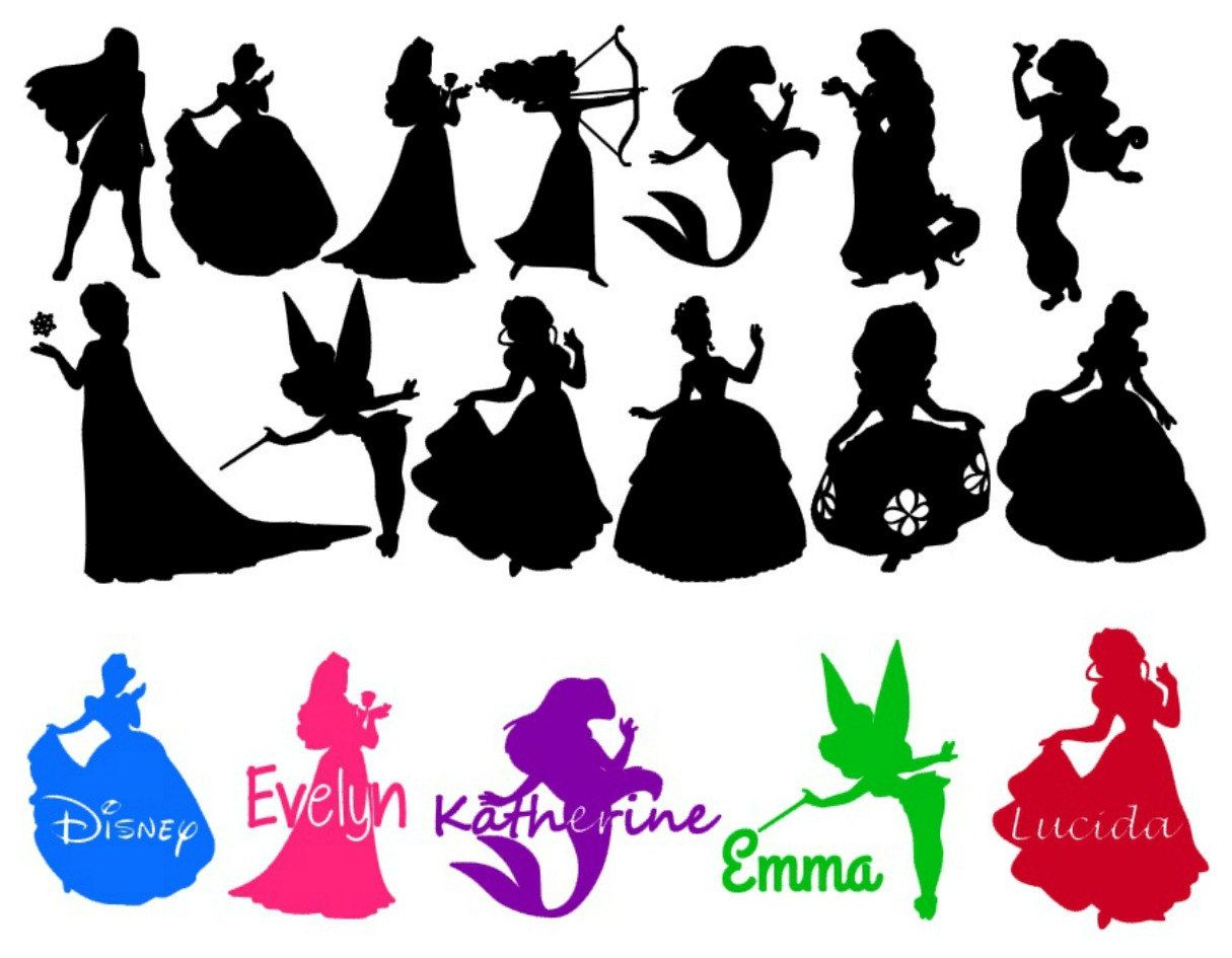 1215x945 Disney Svgs Silhouette Disney Silhouettes