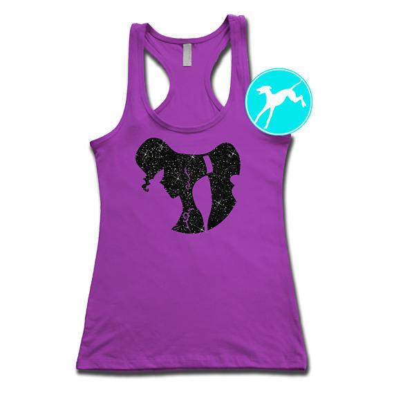 570x570 Disney Meg Tank Hercules Glitter Princess Profile Shirt Top