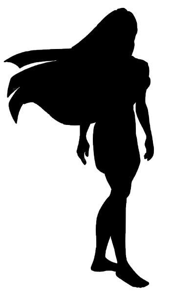 352x600 Pocahontas Stencil Download