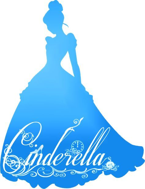 Disney Princess Silhouette Template