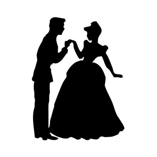 500x500 114 Best Princess Silhouette Images On Silhouettes