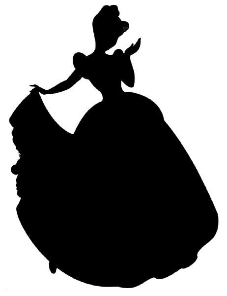 462x600 Disney Silhouettes, Would Be Awesome Cutouts For Artcardsetc