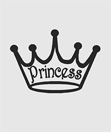 378x450 Disney Princess Silhouette Of Girls Royal Crown Tiara
