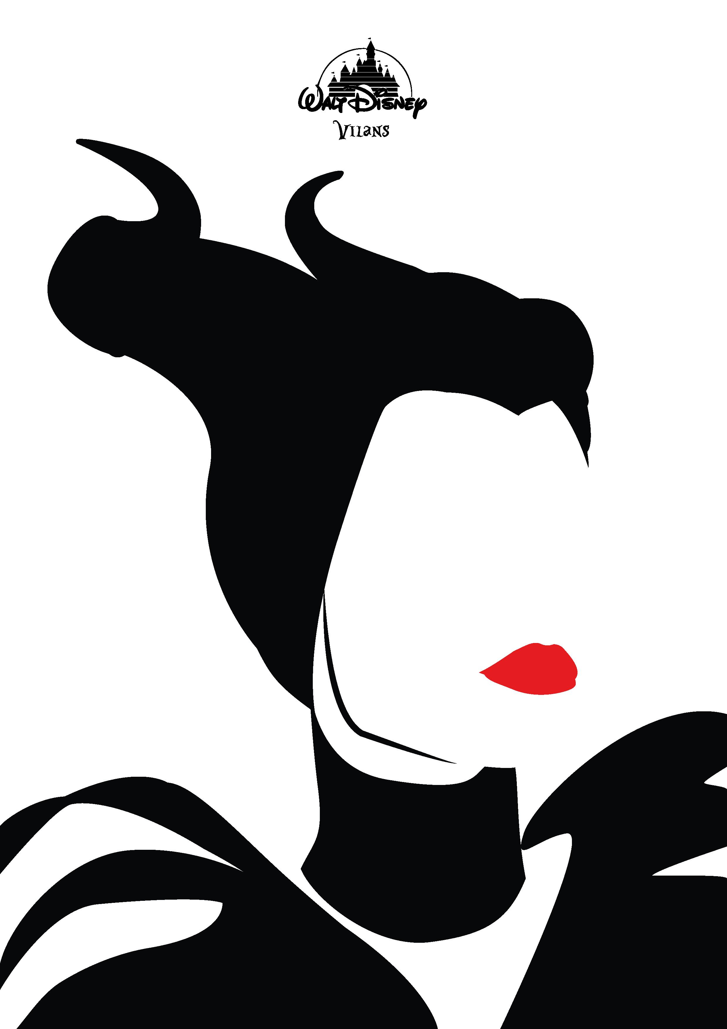 2480x3508 Minimalistische Poster Ontwerpen Van Je Favoriete Disney Villans