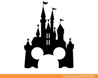 340x270 Disney Castle Monogram Svg Mickey Mouse Minnie Svg Magic