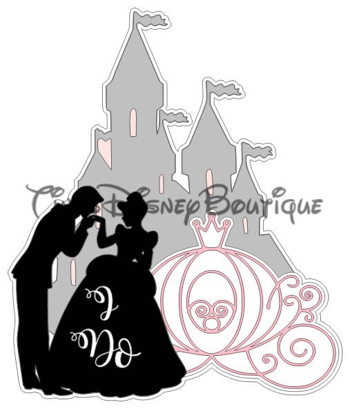 507x592 Disney Svg Clipart Cinderella Castle I Do Title Disneyland Disney