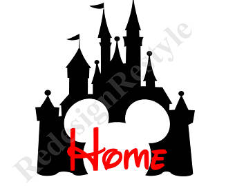 Disneyland Cinderella Castle 340x270 2018 Disney World Mickey Mouse Personalized Iron On Digital File