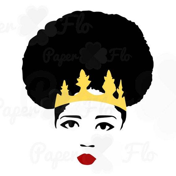 570x570 Black Woman Queen Afro Svg Diva Jpg File Queen Png Digital Art