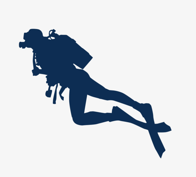 650x588 Diver Silhouette, Diver, Diving Png Image And Clipart For Free