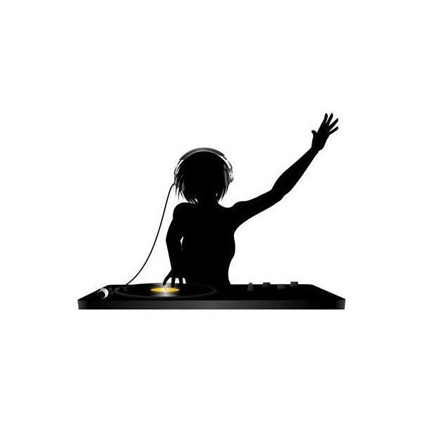 600x600 Dj Silhouette Vector Liked On Polyvore Featuring