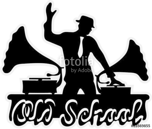 500x426 Old School Dj Stock Image And Royalty Free Vector Files