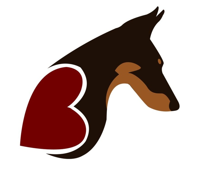 736x574 Doberman Pinscher Clipart Dog Outline