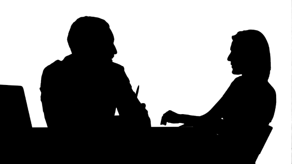 590x332 Silhouette Smiling Doctor Talking With Patient By Fancystudio