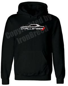 240x300 Dodge Challenger Silhouette Srt Hellcat Hoodie Jacket Sweatshirt