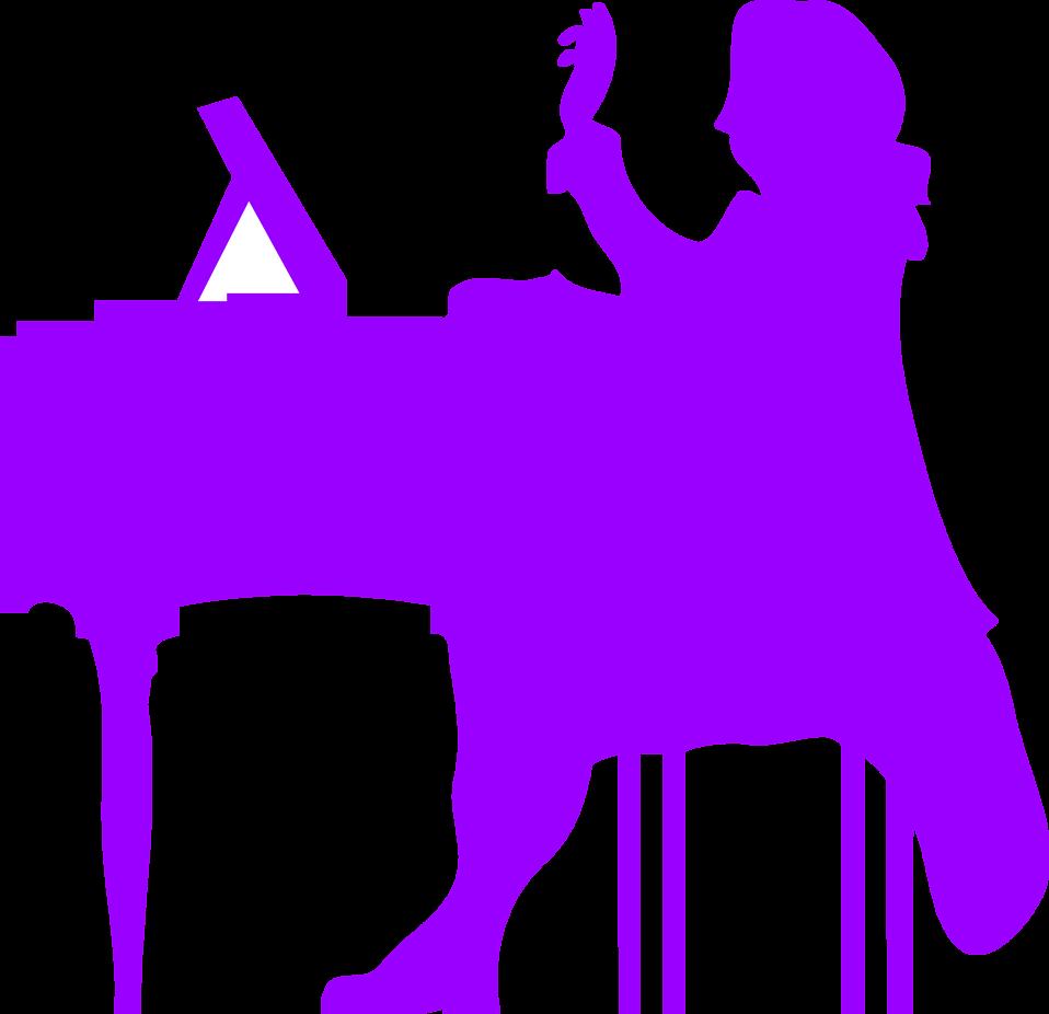 958x926 Piano Free Stock Photo Illustration Silhouette