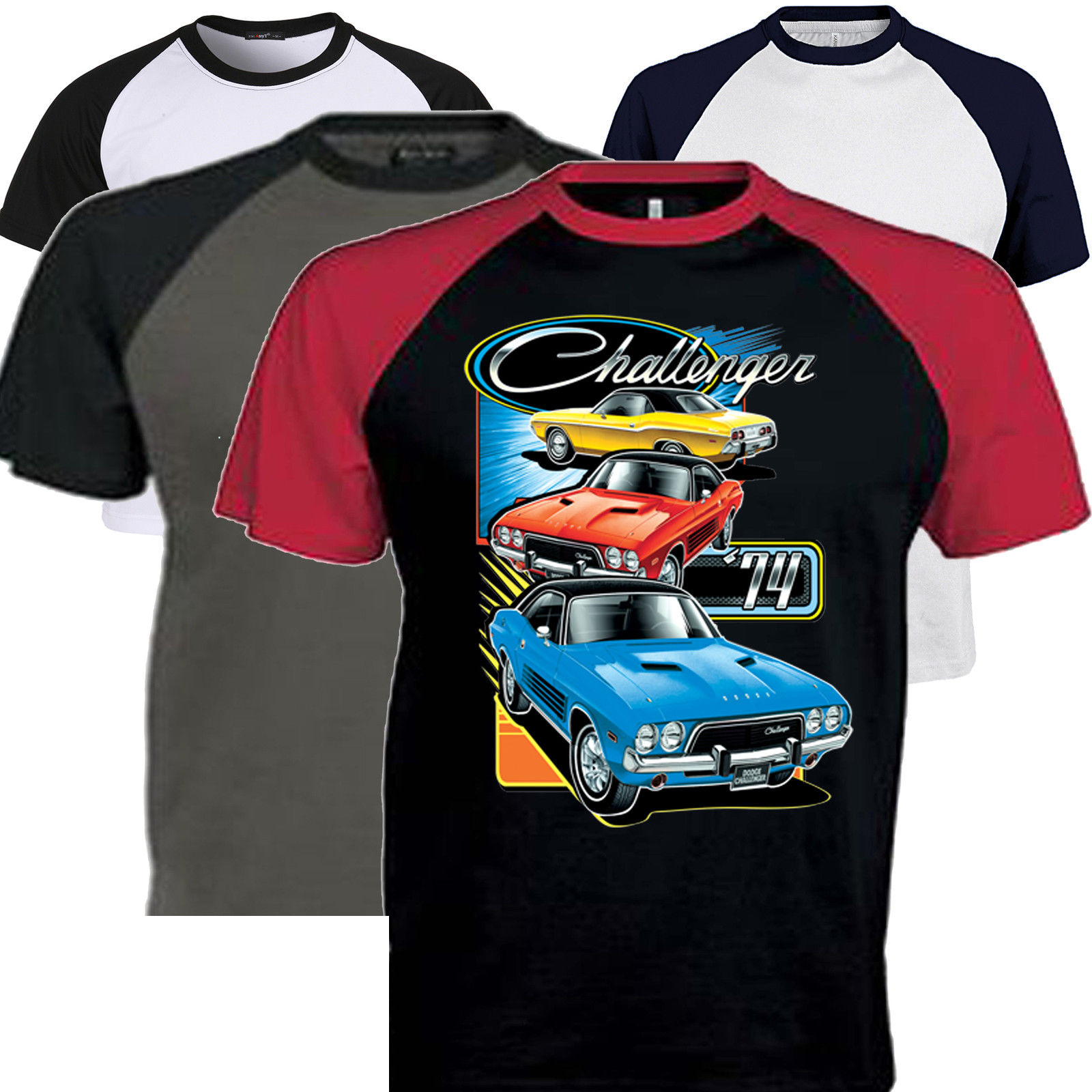1600x1600 Great Dodge Challenger T Shirts