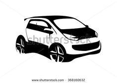 236x168 Car Silhouette Vector Silueta De Carro Car