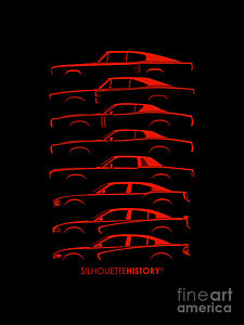 225x300 Dodge Charger Art Fine Art America