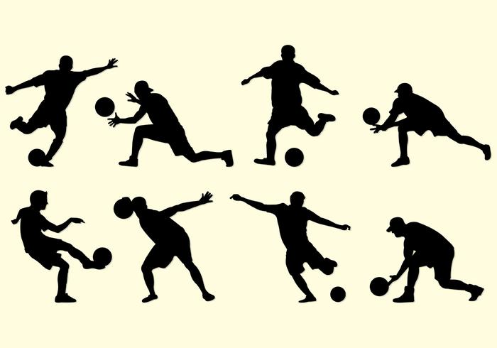 700x490 Silhouette Of Kickball Players