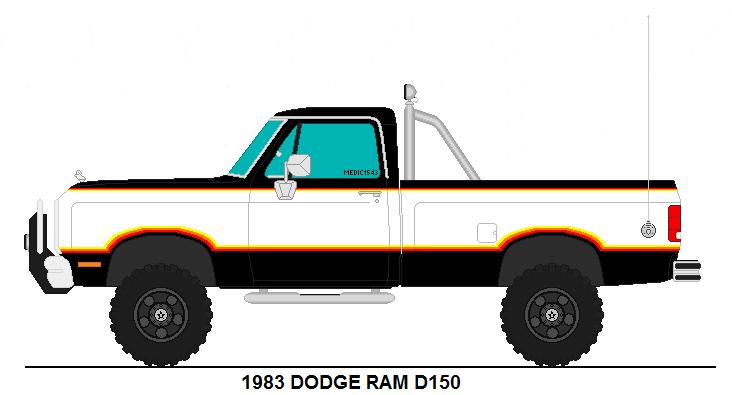 Dodge Truck Silhouette