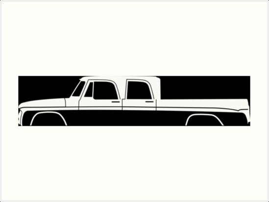 549x413 Truck Silhouette