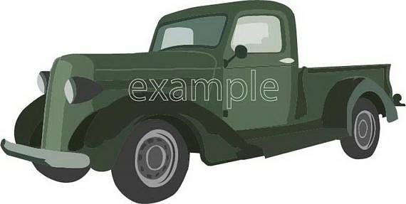 570x287 Dodge 1936 Truck Svg Car Dodge Svg File Clip Art Dodge