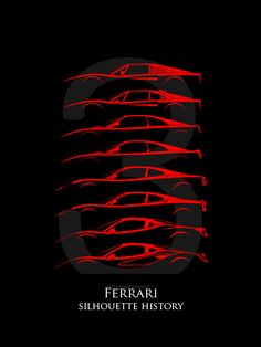 236x314 Front Engine Sports Car Silhouettehistory Silhouettes Of Sports