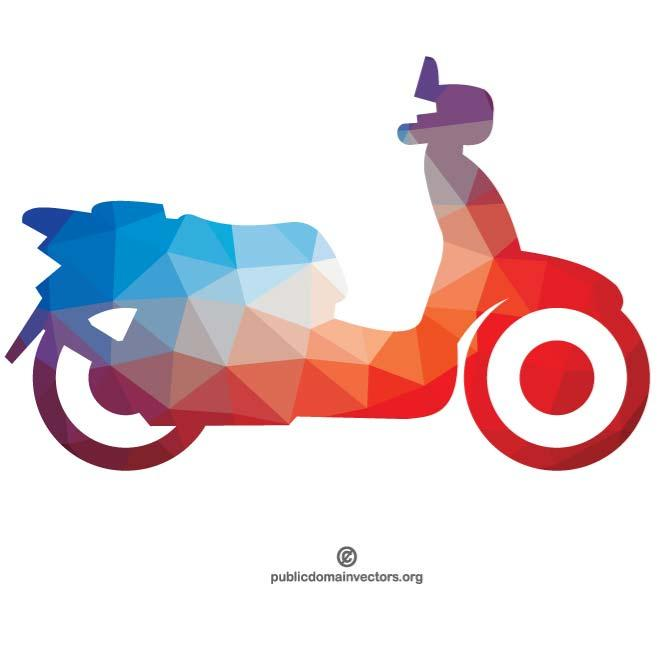 660x660 Silhouette Of A Motorcycle