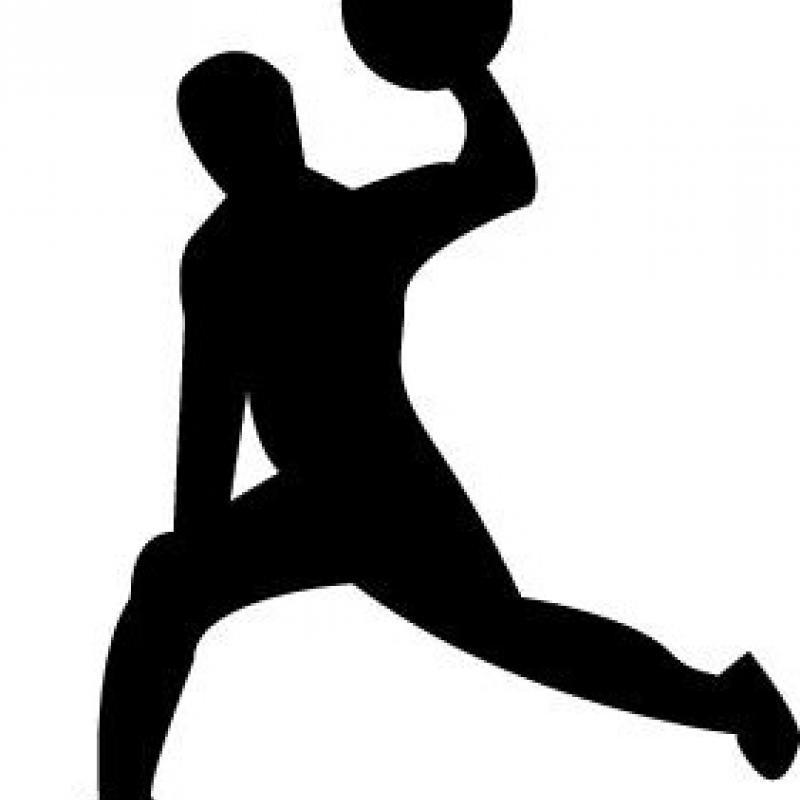 Dodgeball Silhouette