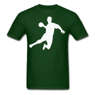 190x190 Dodgeball Player Silhouette Jumping In The Air By Kwg2200