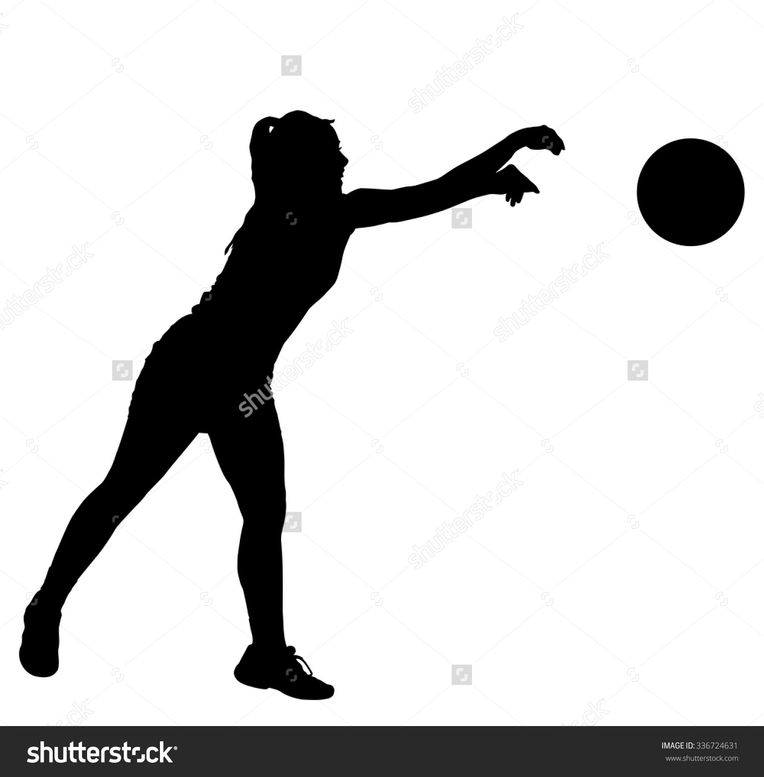 1500x1525 Dodgeball Vector Black And White