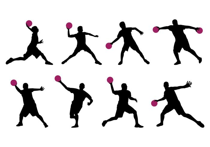 700x490 Silhouette Of Dodge Ball Player