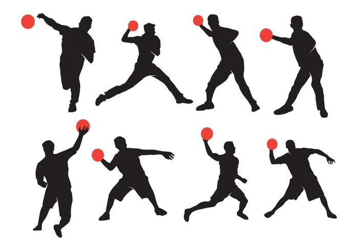 700x490 Active Dodgeball Silhouette