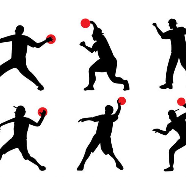 650x650 Dodgeball Silhouette Archives My Graphic Hunt