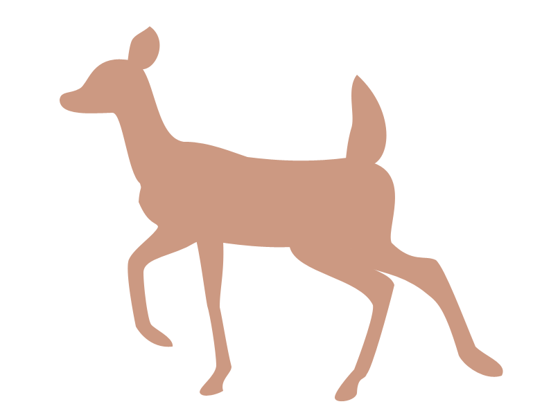 782x584 Deer Silhouette By Wolfypuppy