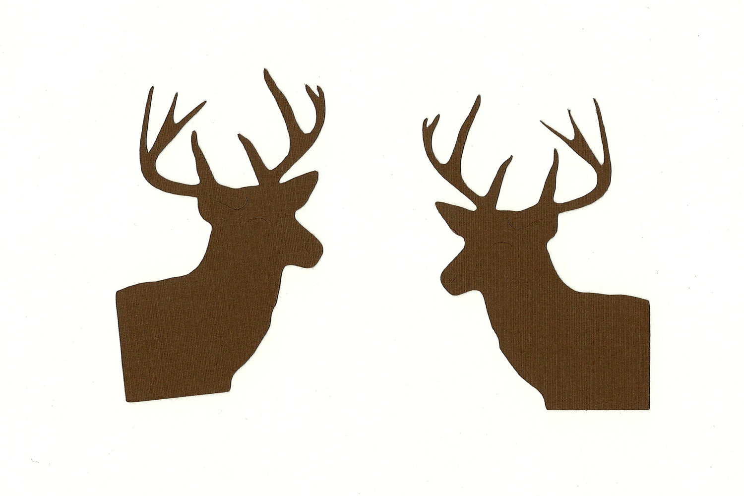 Doe Head Silhouette