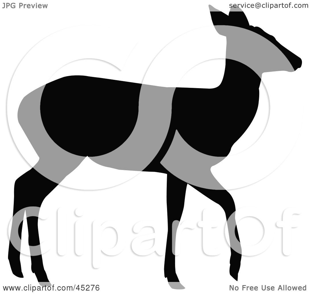 1080x1024 Royalty Free (Rf) Clipart Illustration Of A Profiled Black Walking