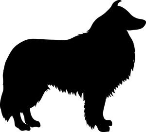 Dog Breed Silhouette Clip Art