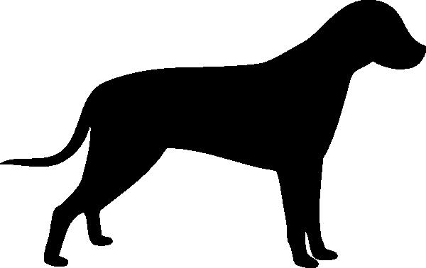 600x378 Dog Silhouette Clip Art