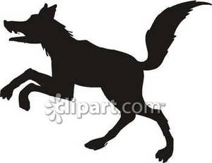 300x231 Of A Jumping Wolf