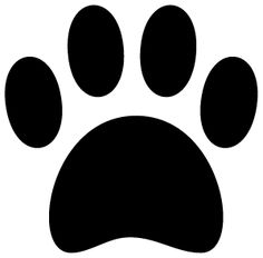 236x232 Dog Paw Print Silhouette Clipart